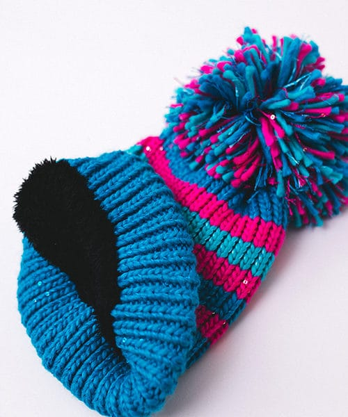 Sparkle Bobble Hat Lining