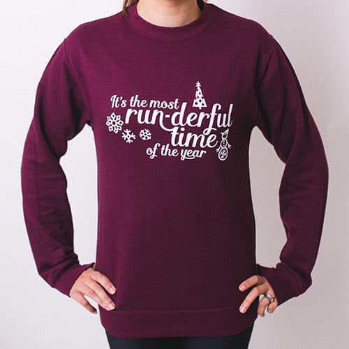Run-derful Sweatshirt Front