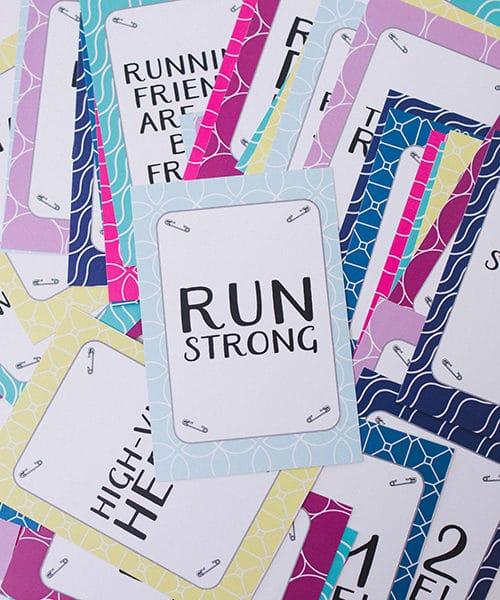 Run Strong Milestone Cards