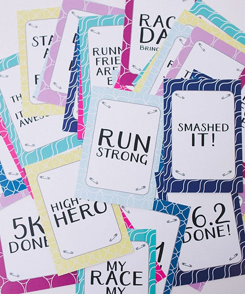 Scattered Milestone Cards