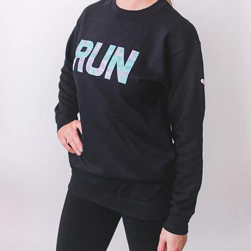 Geo Run Sweatshirt Front Side