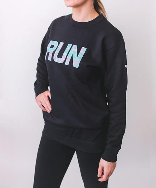 Geo Run Sweatshirt Front Side