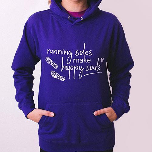 Happy Souls Hoodie Front