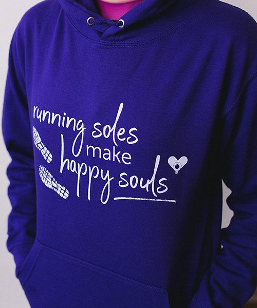 Happy Souls Hoodie Slogan