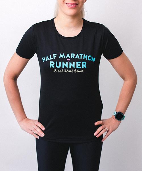 Half Marathon Tee Front