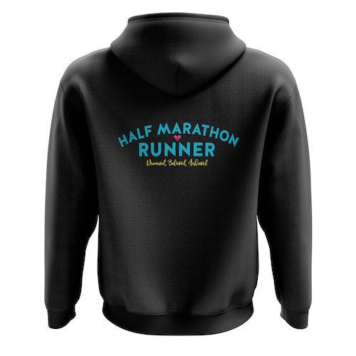 Half Marathon Zoodie Back