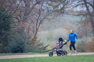 Buggy Running Run Mummy Run