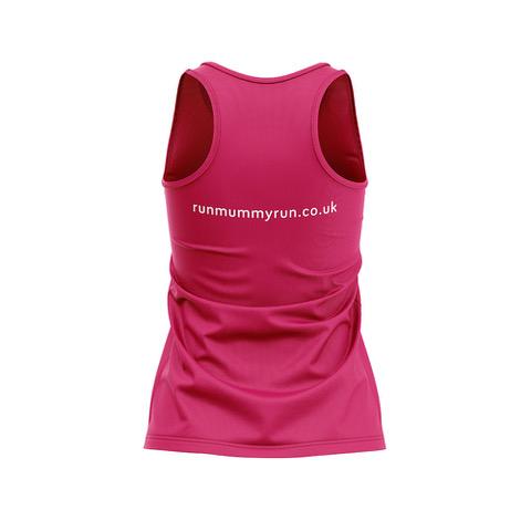 Hot Pink Vest Back