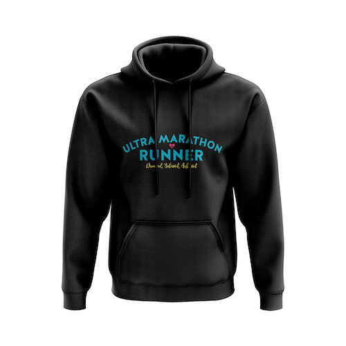Ultra Marathon Runner Hoodie