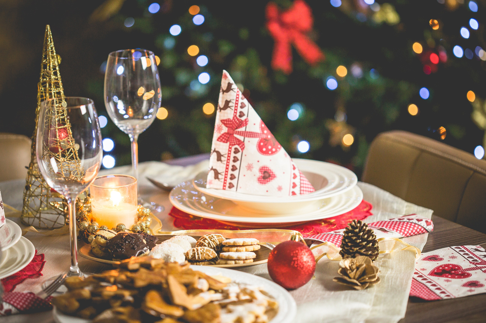 Healthy eating tips for the festive season