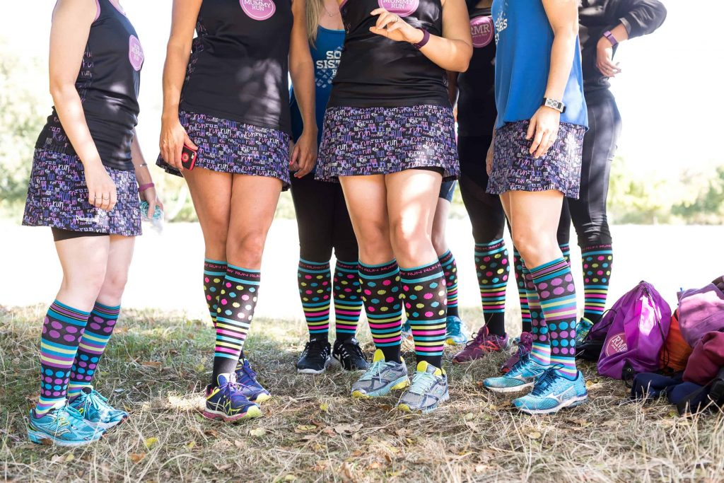 Run Mummy Run Compression Socks