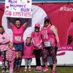 Run Mummy Run team at Race for Life