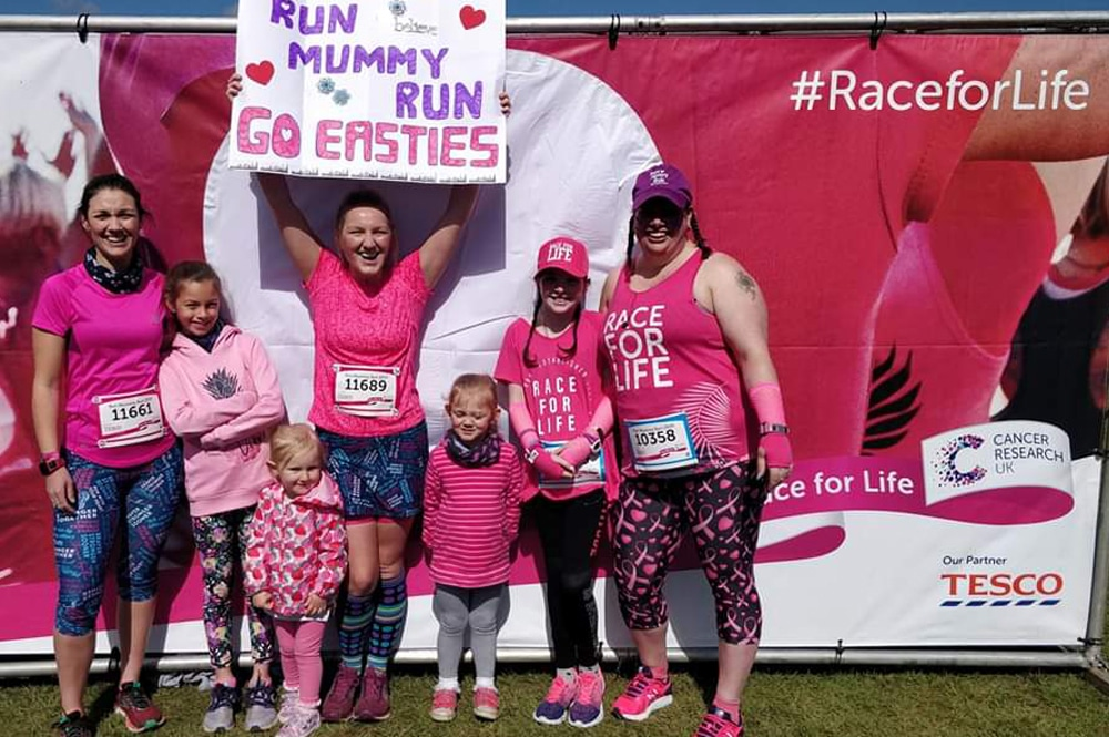 How to train and prepare for a Race for Life event