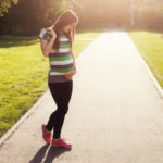 Going for a run during pregnancy