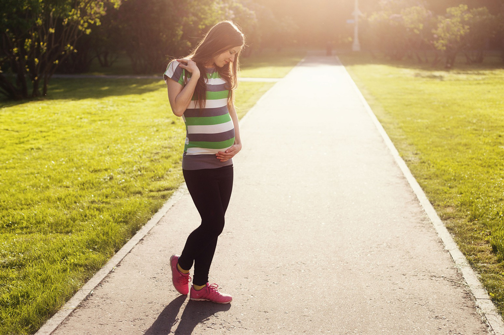 Can I exercise or run during pregnancy?
