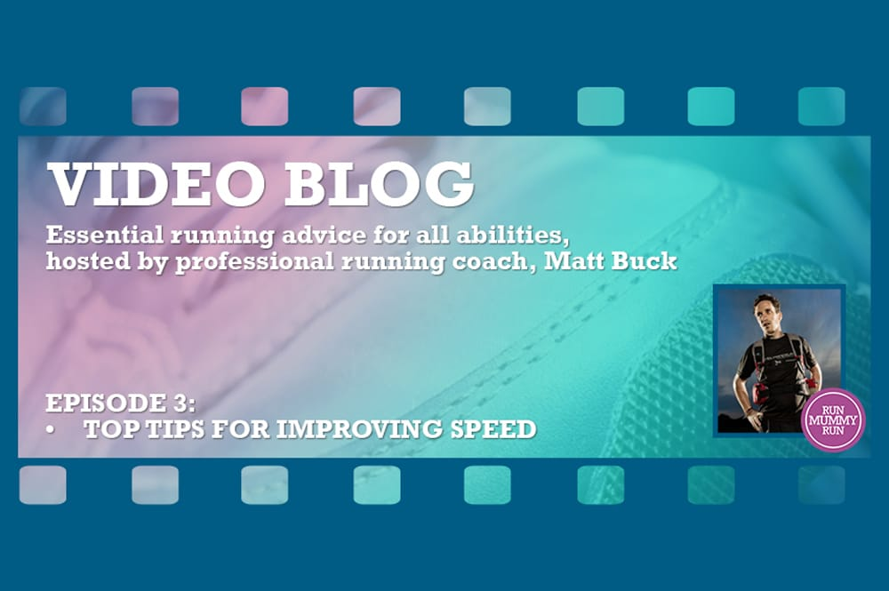 Video:  How to improve your running speed